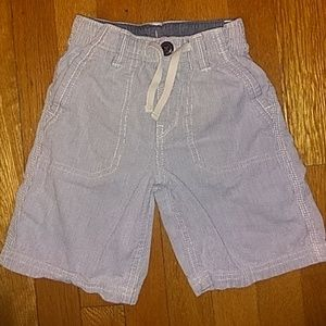 Size 4 Pinstripe Shorts